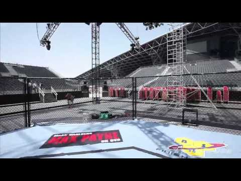 UFC 112 Outdoor Arena Tour in Abu Dhabi
