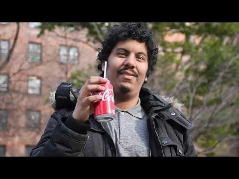 Doing a Coca Cola Commercial in Spanish Harlem