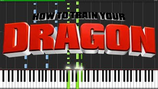 How To Train Your Dragon Medley [Piano Tutorial] (Synthesia) // Ian Yan