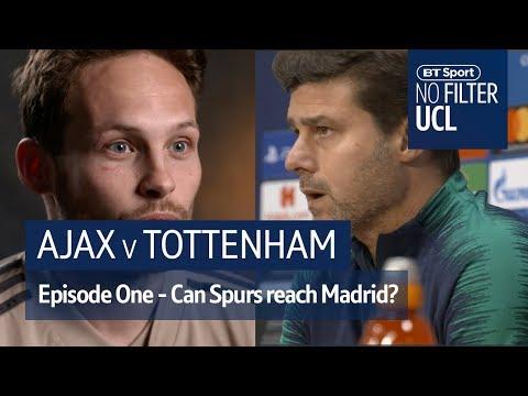 Ajax vs Tottenham | Pochettino, Blind, Davids | No Filter UCL - Thời lượng: 6 phút và 26 giây.