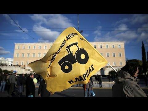 Ελλάδα: Αγροτικό συλλαλητήριο στην Αθήνα