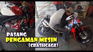 Video Pemasangan ENGINE PROTEKTOR - Crashcage Pelindung Body Motor MP3, 3GP, MP4, WEBM, AVI, FLV Januari 2019