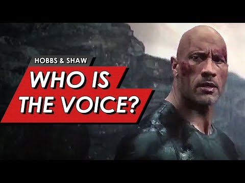 Hobbs And Shaw Explained: Who Is The Voice Behind Eteon? | Confirmed Fan Theory