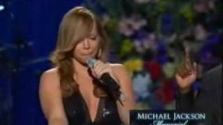 HD Mariah Carey - Ill Be There Live Michael Jackson Memorial