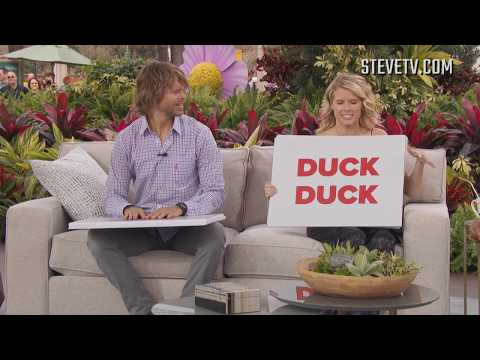 Eric Christian Olsen and Sarah Wright Olsen Can't Agree On Their Son's First Word