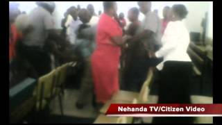 Nehanda Radio has received this shocking citizen video of riot police in Harare savagely beating up Apostolic Faith Mission in...