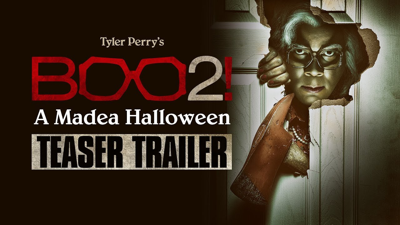 Surprise…Tyler Perry is Back with Comedy-Horror Sequel 'Boo 2! A Madea Halloween' (Teaser Trailer)