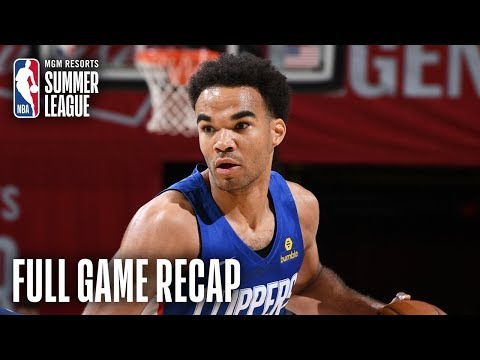 Video: CLIPPERS vs WIZARDS | Terance Mann Records Near Triple-Double | MGM Resorts NBA Summer League