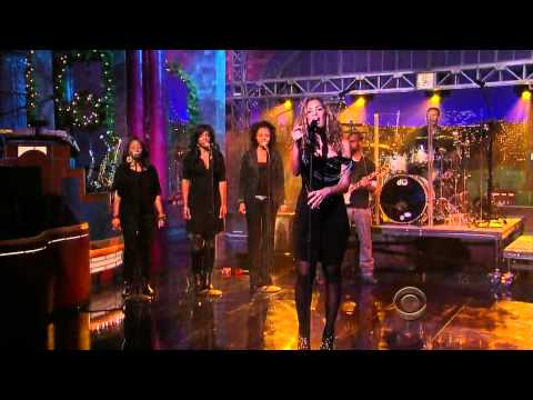 Leona Lewis - I Will Be Live [Late Show With David Letterman [19/12/2008] In HD