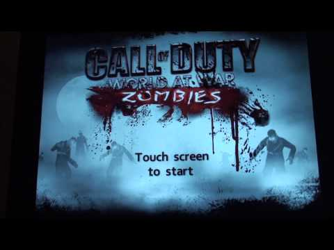 call of duty world at war zombies ios glitches