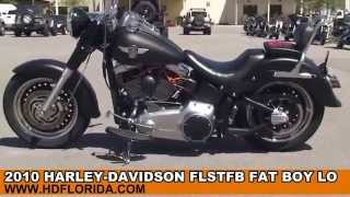 5. Used 2010 Harley Davidson  FatBoy Lo For Sale in Texas