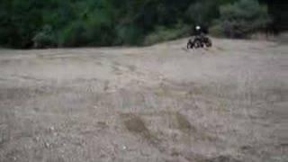 9. MODEL HANDLES A KAWASAKI 700 ATV LIKE A PRO