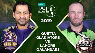 Match 12: Full Match Highlights Quetta Gladiators vs Lahore Qalandars | HBL PSL 4 | HBL PSL 2019