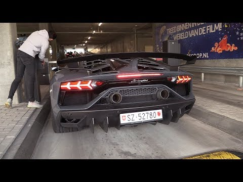 Lamborghini Aventador SVJ - LOUD Revs & Engine SOUNDS!