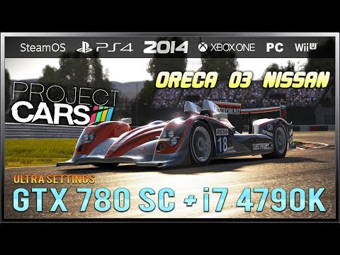 ultra - Project CARS gameplay with my new PC. The video is a lap and replay at japanese circuit of Suzuka with the Oreca 03 Nissan. Gameplay de Project CARS con mi nuevo PC. El vídeo es una vuelta...