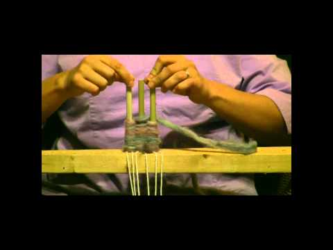How To Weave On A Peg Loom