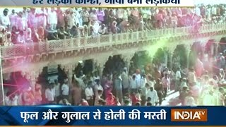 Holi: Mathura celebrates Festival of colours