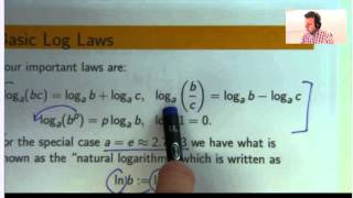 Basic logarithm examples from mathematics.  We look at basic log laws and how to apply them.  Such ideas are important for solving all sorts of problems in mathematics.Free ebook  http://tinyurl.com/EngMathYT