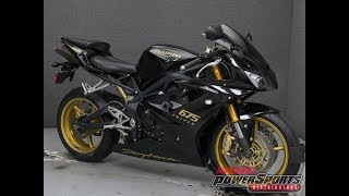 7. 2008  TRIUMPH  DAYTONA 675 SE - National Powersports Distributors