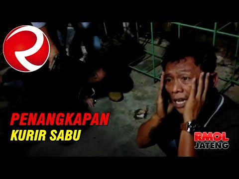 Detik-detik Penangkapan Kurir Sabu | BNNP Jateng