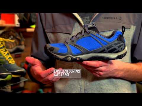 La chaussure Proterra de Merrell