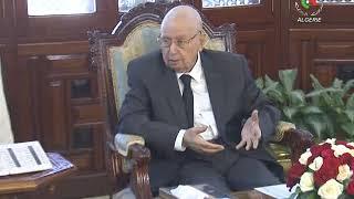 Le chef de l'Etat Abdelkader Bensalah reçoit le Premier ministre Noureddine Bédoui- Canal Algérie