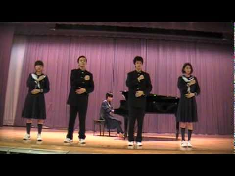 杉並区立高円寺中学校校歌(手話バージョン)
