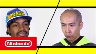 Super Smash Bros. pro, J.Miller, had the opportunity to test his fighting game skills against ARMS producer Kosuke Yabuki, see how his practiced Master Mummy did against Mr. Yabuki's world renowned Min Min...Official Website: http://www.nintendo.co.uk/Games/Nintendo-Switch/ARMS-1173200.htmlFacebook ARMS_UK: https://facebook.com/ARMSUKTwitter Nintendo UK: https://twitter.com/NintendoUKTwitch Nintendo UK: https://twitch.tv/NintendoUKInstagram Nintendo Switch UK: https://instagram.com/NintendoSwitchUKInstagram Nintendo UK: https://instagram.com/NintendoUKYouTube Nintendo UK: https://bit.ly/2cREWfu