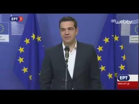 Δηλώσεις Πρωθυπουργού από Βρυξέλλες για προσφυγικό