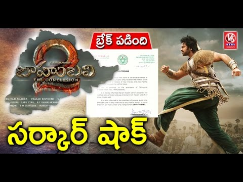 Baahubali 2 : Telangana Govt Denies Permission For Benefit Shows