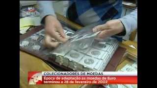 COLECIONADORES DE MOEDAS  Há quase dez anos, a 28 de Fevereiro de 2002, o escudo deixava, definitivamente, de circular em Portugal, para dar lugar ao euro. ...