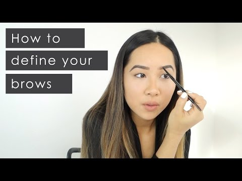 How To Define Your Brows