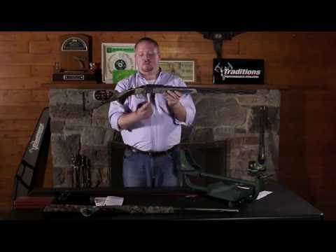 Traditions Firearms - How to Disassemble Your Traditions Break Action Muzzleloader