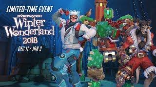 Overwatch Seasonal Event   Overwatch Winter Wonderland 2018