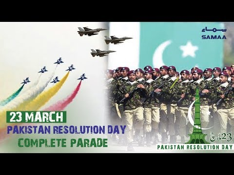 Pakistan Day Complete Parade | SAMAA TV | 23 March 2019