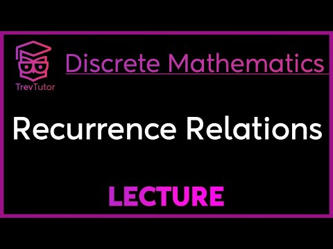 [Discrete Math 2] Recurrence Relations