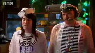 One of my favorites Mighty Boosh:  Electronic Castaways - Future Sailors