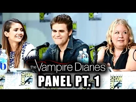Part 1 - TVD Panel Part 2 ▻▻ http://youtu.be/VHVFyU1xCfQ More Celebrity News ▻▻ http://bit.ly/SubClevverNews Part 1 of the 2014 Comic-Con Panel with the cast of The Vampire Diaries - Paul Wesley,...