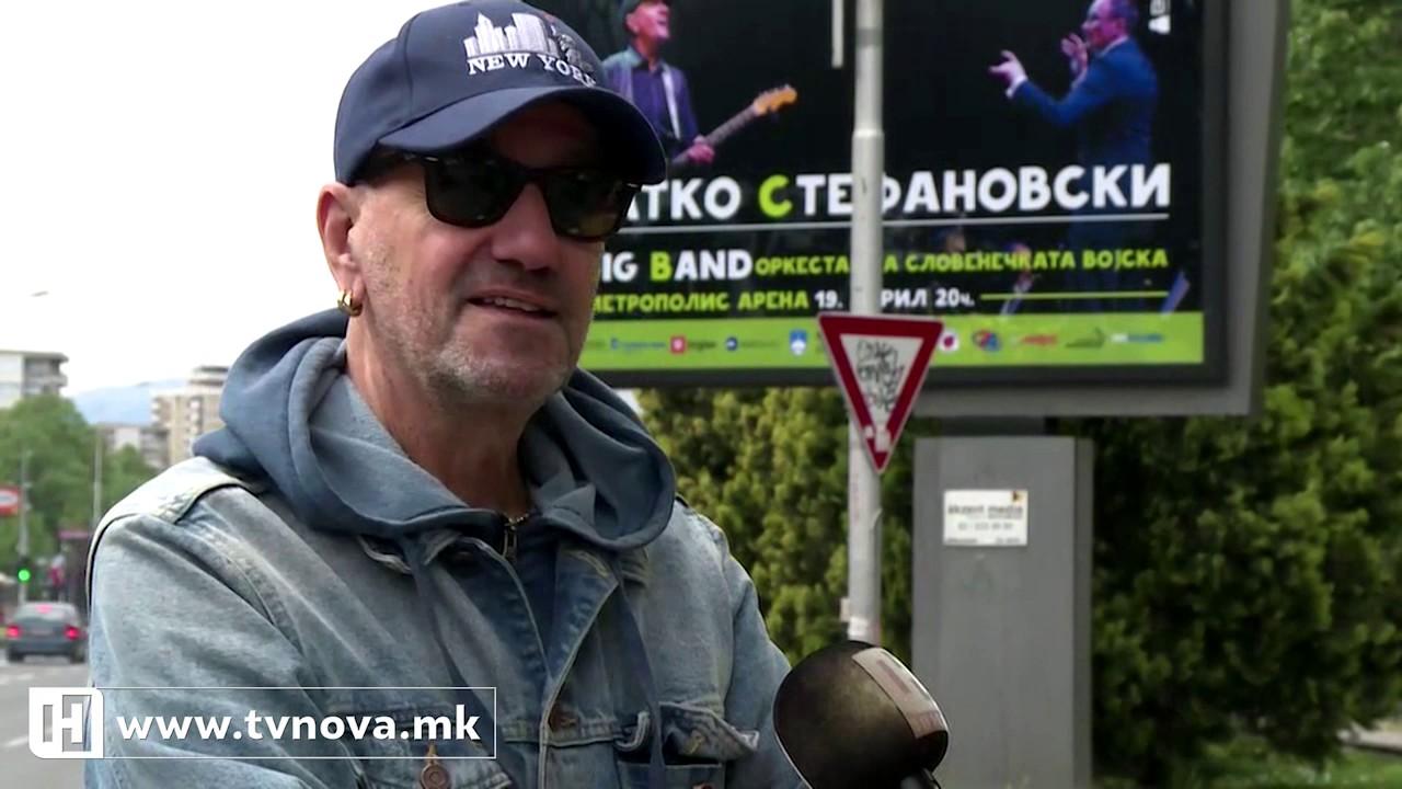 Концерт на Влатко Стефановски со Биг Бендот на словенечката војска