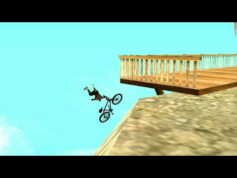 GTA San Andreas Funny Die (Fails In Bike HD720p)