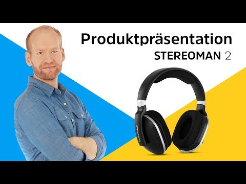 STEREOMAN 2   Stereo-Funk-Kopfhörer für kabellosen Musikgenuss.   TechniSat