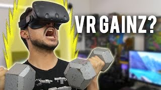 Is VR a viable fitness solution? How much weight can I lose in 30 days from playing video games? Does anyone read the description anymore?Garmin Vivosmart HR+ US: http://amzn.to/2p2047pCanada: http://amzn.to/2oFb49NUK: http://amzn.to/2oaSWRW▷  My Amazon LinkUS: http://amzn.to/2m5PBXBCanada: http://amzn.to/2ngZxtjUK: http://amzn.to/2m1EdH7▷ BITWIT ULTRA not available in your country? Get all the same perks on my Patreon page: https://www.patreon.com/bitwit▷ MY STOREhttp://www.bitwit.tech/store/▷ FOLLOW ME Twitter: www.twitter.com/bitwitkyle (@bitwitkyle)Instagram: @bitwitkyleTwitch: http://www.twitch.tv/bitwitky✉ SEND FAN MAIL TO:BitwitP.O. Box 1449La Mirada, CA 90637▷ CREDITSThe Passion HiFi - http://www.twitter.com/Passion_HiFiKevin Macleod - http://www.incompetech.comAudio file(s) provided by http://www.audiomicro.comNoCopyrightSoundshttps://www.youtube.com/user/NoCopyrightSounds