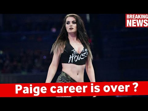 Paige retired ! Paige Forced to retire after Injury in WWE