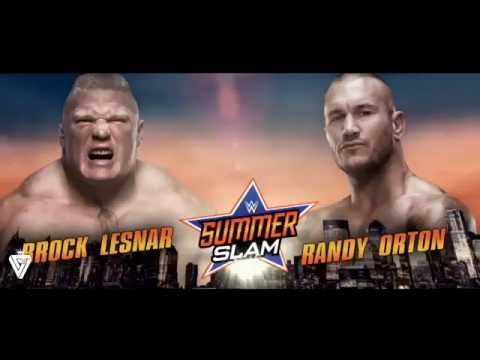Brock Lesnar vs Randy Orton  WWE Summerslam Promo   2016 HD