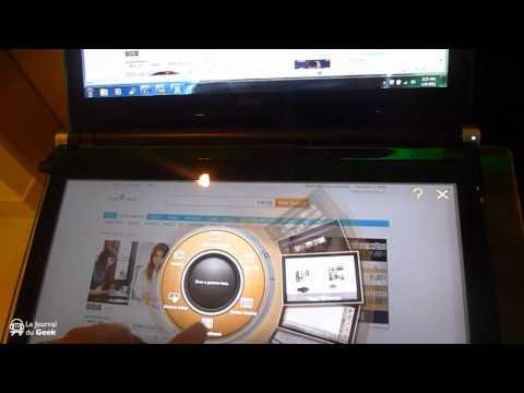 Acer Iconia : deux écrans capacitifs