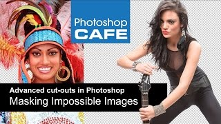 Masking difficult images in Photoshop Tutorial