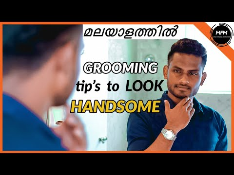 Simple GROOMING tips to Look HANDSOME | Men's Fashion Malayalam