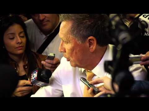 Reporter's question angers Kasich