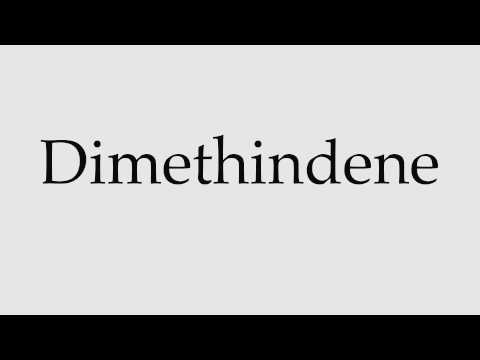 How to Pronounce Dimethindene