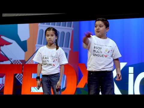 The Benefits of Being Bilingual | Bella Lawson & Jose Sabedra | TEDxKids@ElCajon